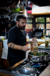 Workshop with Chef Raul Garcia Crespo in Portugal 2017