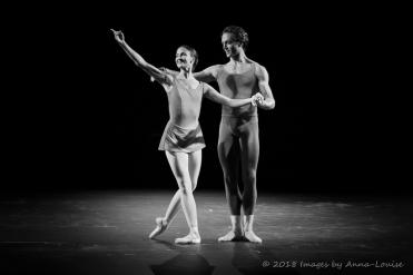 Lauren Cuthbertson and Matthew Ball