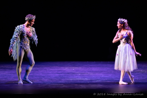 Marcelino Sambe and Francesca Hayward